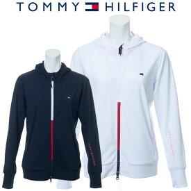 トミーヒルフィガー サンガード ジップアップパーカー レディース 春夏 ゴルフウェア THLA006