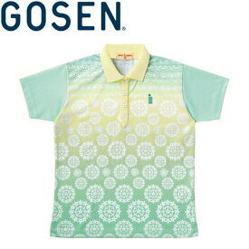 【2点までメール便送料無料】ゴーセン ゲームシャツ レディース T1401-44