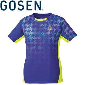 【2点までメール便送料無料】ゴーセン ゲームシャツ レディース T1807-75