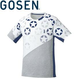 【2点までメール便送料無料】ゴーセン 星柄ゲームシャツ メンズ レディース T1814-30