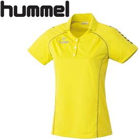 【2枚までメール便送料無料】12FW ヒュンメル hummel レディースゲームシャツ HLG1001 レディース