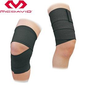 【2点までメール便送料無料】マクダビッド テーピングサポーター L 膝 サポーター M531-BK【返品不可】