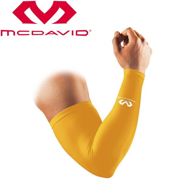 【2点までメール便送料無料】マクダビッド パワーアームスリーブ 2本入 プロテクティブアパレル M6566-YG【3点以上、他商品と同梱、代引きは宅配便(送付先地域の送料に準ずる)で発送】