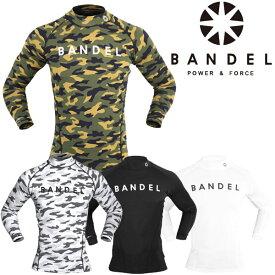 【2枚までメール便送料無料】バンデル アンダーウェア ハイネック ロング Tシャツ BANDEL HIGH-NECK LONG T-SHIRT 160710D