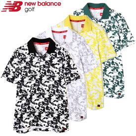 【在庫処分】ニューバランス ゴルフウェア メンズ ポロシャツ 012-9160003 2019春夏