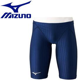 【メール便送料無料】 ミズノ スイム 競泳用ハーフスパッツ メンズ N2MB002214