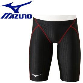 【メール便送料無料】 ミズノ スイム 競泳用ハーフスパッツ メンズ N2MB002296