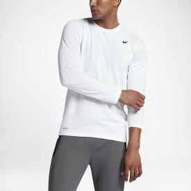 【2枚までメール便送料無料】 ナイキ 長袖 トレーニングシャツ メンズ ジム トレーニング フィットネス 練習着 スポーツウェア ランニング DRI-FIT レジェンド L/S Tシャツ NIKE 718838