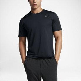 【2枚までメール便送料無料】 ナイキ NIKE 半袖 Tシャツ トレーニングシャツ メンズ ジム トレーニング フィットネス 練習着 スポーツウェア ランニング DRI-FIT レジェンド S/S 718834