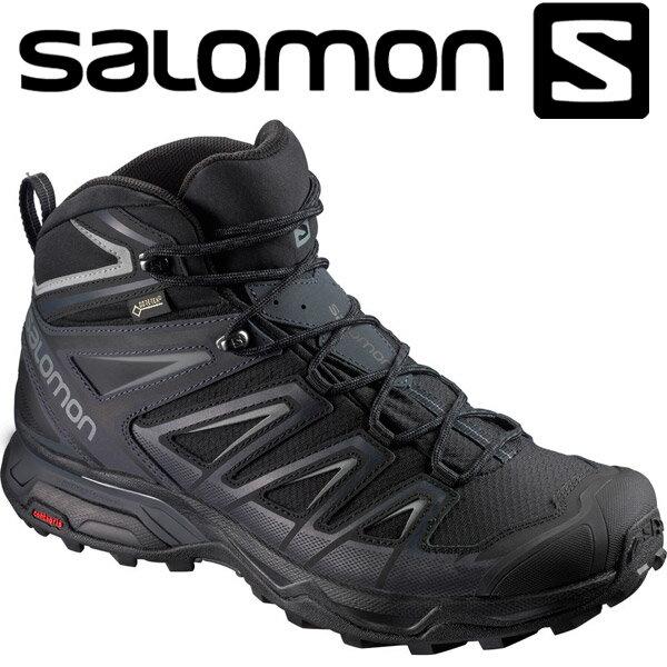 サロモン X ULTRA 3 WIDE MID GTX ハイキング&マルチファンクション シューズ メンズ L40129300