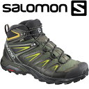 d697f04ce17 Shop Chitose Sports Rakuten market store · L40129500 · Salomon X ULTRA 3  WIDE MID GTX hiking  amp  multi-function shoes men L40129500