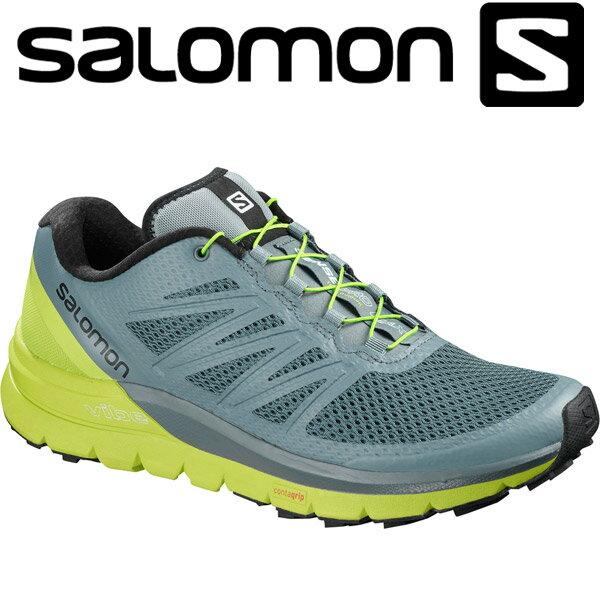 サロモン SENSE PRO MAX トレイル ランニングシューズ メンズ L40241100