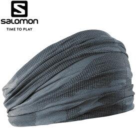 【2点までメール便送料無料】サロモン ランニング NECK&HEAD LIGHT GAITOR ネックウォーマー メンズ LC1151800
