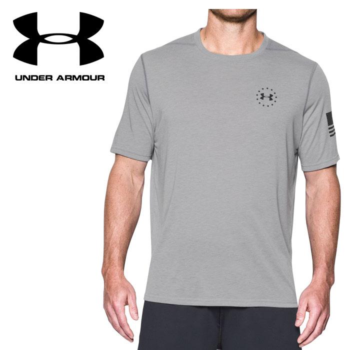 【あす楽対応】 【並行輸入品】 アンダーアーマー UA FREEDOM SIRO SS T 1301243-025 メンズ Tシャツ