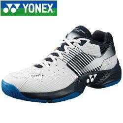 ヨネックスパワークッションワイド235テニスシューズメンズレディースSHT235W-100