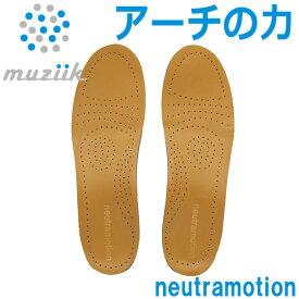 【メール便送料無料】 ムジーク インソール ニュートラモーション レザー 革靴専用 MZIS-0203 2021モデル