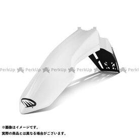 サイクラ RM-Z250 RM-Z450 SUZUKI ベンテッドフロントフェンダー RMZ250/450(08-17) ホワイト