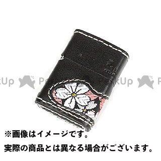 送料無料 DEGNER デグナー 小物・ケース類 花山 ZC-3K ジッポケース 京桜 ブラック