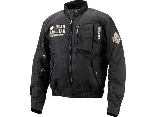 送料無料 イエローコーン YeLLOW CORN ジャケット 2018-2019秋冬モデル YB-8300 ウィンタージャケット(ブラック) 3LW