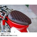 ケップスピード スーパーカブ50 カブ用 ダイヤカット カスタム シングルシート(ブラウン) KEPSPEED