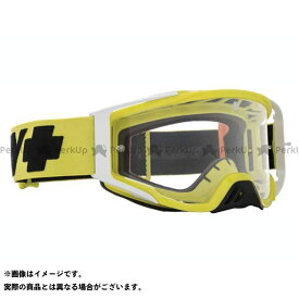 SPY Foundation モトクロスゴーグル(CHECKERS HI-VIS GREEN-HD CLEAR AFP) スパイ