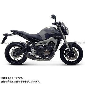 【特価品】テルミニョーニ MT-09 YAMAHA MT-09(14-)3X1フルエキゾースト サイレンサー:チタン TERMIGNONI