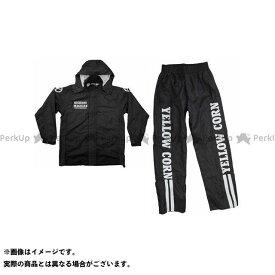 【エントリーで最大P21倍】イエローコーン YBR-903 レインスーツ(ブラック) サイズ:3L YeLLOW CORN