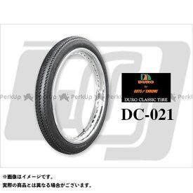 【エントリーで最大P19倍】デューロ 汎用 【DURO CLASSIC】3.00×21インチ タイヤ DURO