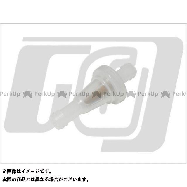 ガッツクローム ハーレー汎用 エンジンオイルパーツ クリアガソリンフィルター 8パイ(5/16)