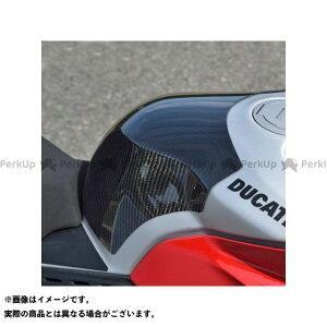 【エントリーで最大P19倍】マジカルレーシング パニガーレV4R タンクエンド 材質:FRP白 Magical Racing