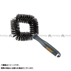 【無料雑誌付き】IceToolz C1642 タイヤ&ホイールクリーニングブラシ グレー/ブラック IceToolz