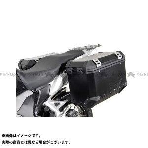 【雑誌付き】SWモテック VFR1200X・クロスツアラー QUICK-LOCK(クイックロック)EVO サイドキャリア ブラック Honda VFR 1200 X Crosstourer(12-) SW-MOTECH