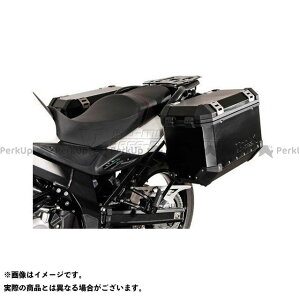 【雑誌付き】SWモテック Vストローム650XT QUICK LOCK(クイックロック)EVO サイドケースホルダー -ブラック- DL 650(11-) SW-MOTECH