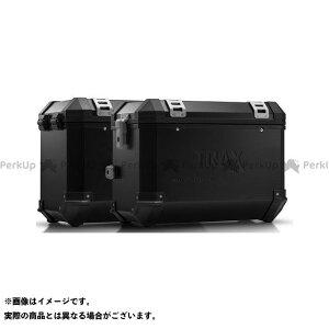 【雑誌付き】SWモテック MT-07 TRAX(トラックス)ION アルミケースシステム ブラック 45/45 L. Yamaha MT-07 Tracer(16-)|KFT.06.593. SW-MOTECH
