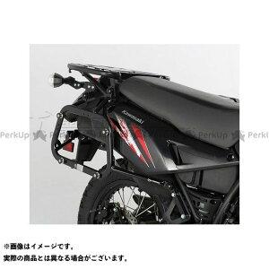 【雑誌付き】SWモテック KLR650 QUICK LOCK(クイックロック)EVO サイドケースホルダー -ブラック- KLR650(08-) SW-MOTECH