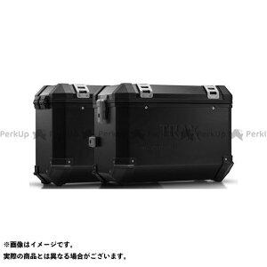 【雑誌付き】SWモテック KLR650 TRAX(トラックス)ION アルミケースシステム ブラック 45/37 l. Kawasaki KLR 650(08-)|KFT.08.363.5 SW-MOTECH