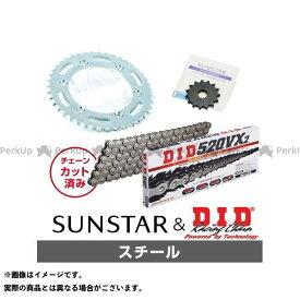 【特価品】サンスター VTR250 KD30405 スプロケット&チェーンキット(スチール) SUNSTAR
