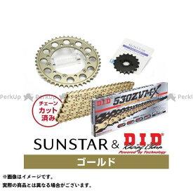 【雑誌付き】サンスター ZRX1100 ZRX1100- KD50213 スプロケット&チェーンキット(ゴールド) SUNSTAR