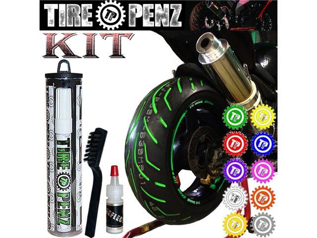 TIRE PENZ タイヤペンズ 塗料・ペイント タイヤペンズ 10ml キット COBATT BLUE