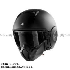 【エントリーで最大P21倍】シャークヘルメット Street Drak Blank Mat Helmet Black Matt サイズ:L SHARK HELMETS