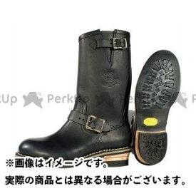 KADOYA K'S/BOOTS&BOOTS No.4007-2 KA-G.I.J-SS(ブラック/ ゴールド) 24.5cm カドヤ