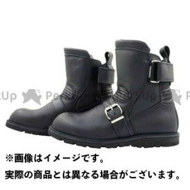 KADOYA カドヤ K'S LEATHER No.4313 BLACK ANKLE(ブラック) 24.0cm