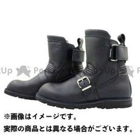 KADOYA カドヤ K'S LEATHER No.4313 BLACK ANKLE(ブラック) 27.5cm