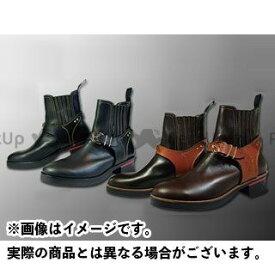 KADOYA カドヤ Leather Royal Kadoya No.4321 RIDE CHELSEA ブラック×ブラック 24.5cm