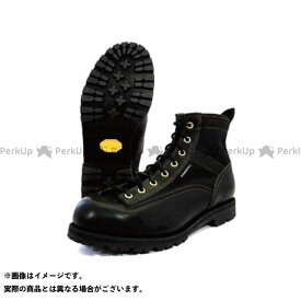 KADOYA カドヤ Leather Royal Kadoya No.4326 LOGGER LIGHT ブラック×ブラック 25.0cm