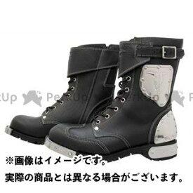 KADOYA カドヤ SHINYA REPLICA No.4512 HAMMER BOOTS SHORT ブラック×シルバー 24.5cm
