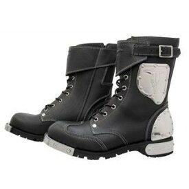 KADOYA カドヤ SHINYA REPLICA No.4512 HAMMER BOOTS SHORT ブラック×シルバー 28.0cm