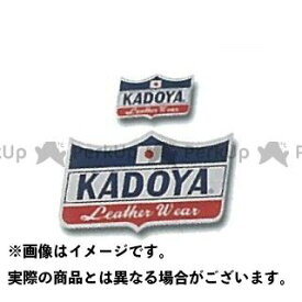 KADOYA カドヤ CROWN STICKER(ネイビー×レッド×ホワイト) 小/45mm×25mm