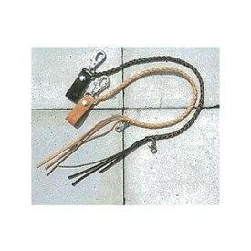 KADOYA カドヤ No.8842 KADOYA ORIGINAL LEATHER WALLET STRAP .B ブラック