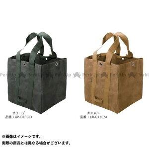 【無料雑誌付き】アソビト 薪ケース(オリーブ) asobito